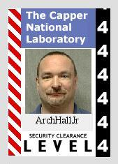 ArchHallJr's Capper National Laboratory badge